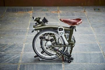 Barbour Brompton bike